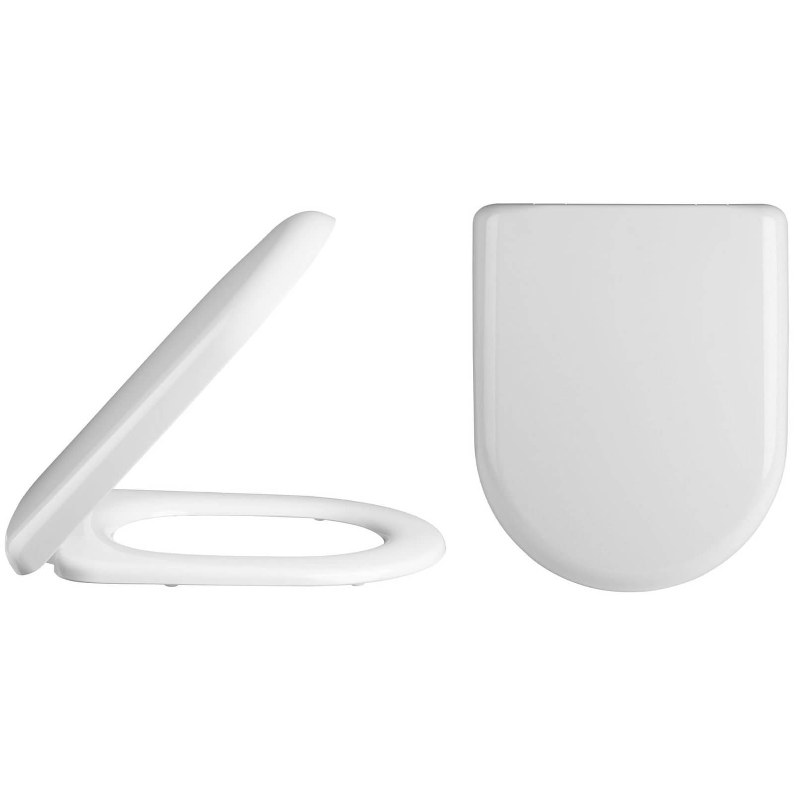 large d shaped toilet seat.  Lauren Standard D Shaped Top Fix Soft Close Toilet Seat And Cover