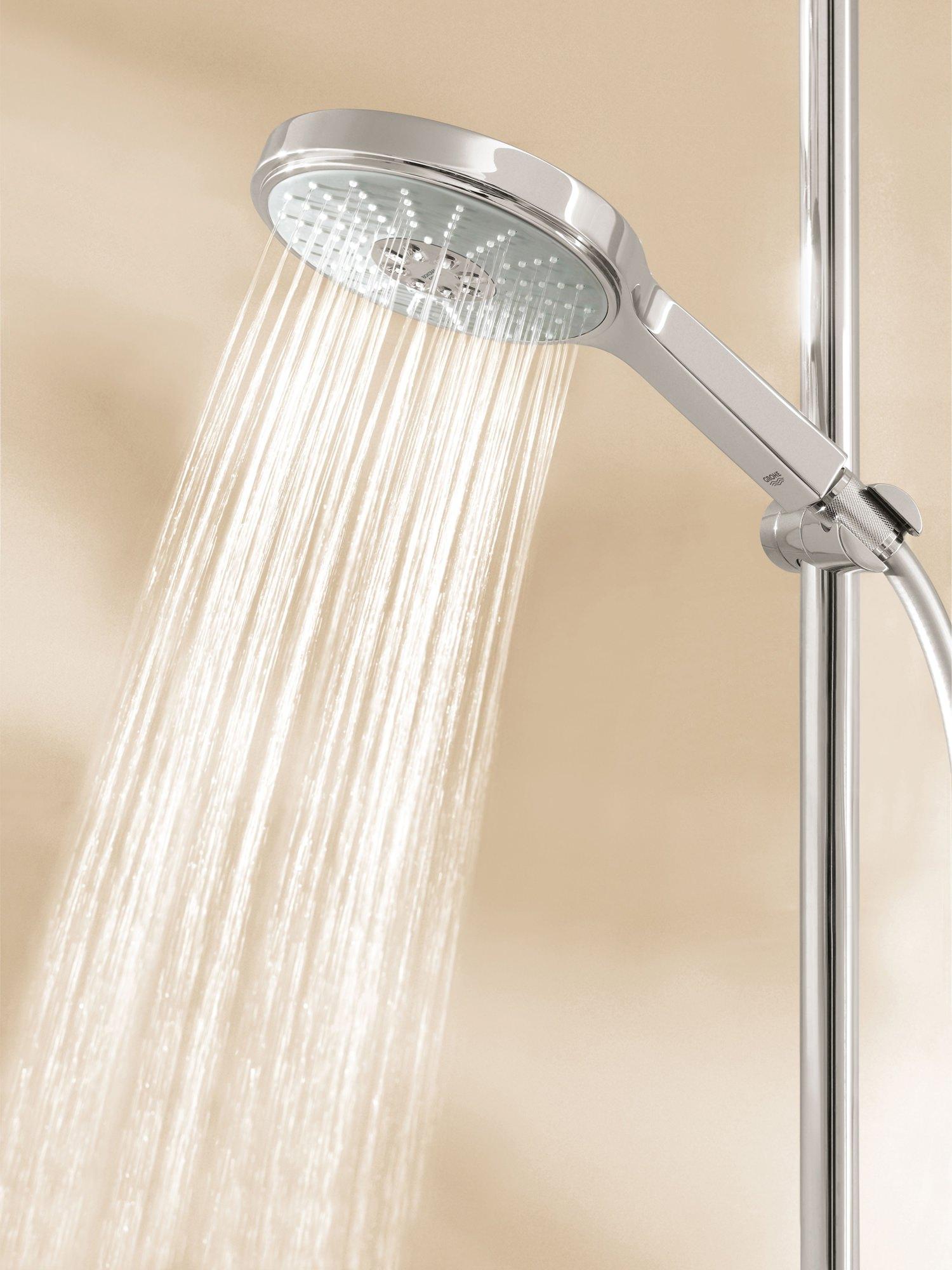 grohe power and soul cosmopolitan shower rail set 900mm. Black Bedroom Furniture Sets. Home Design Ideas