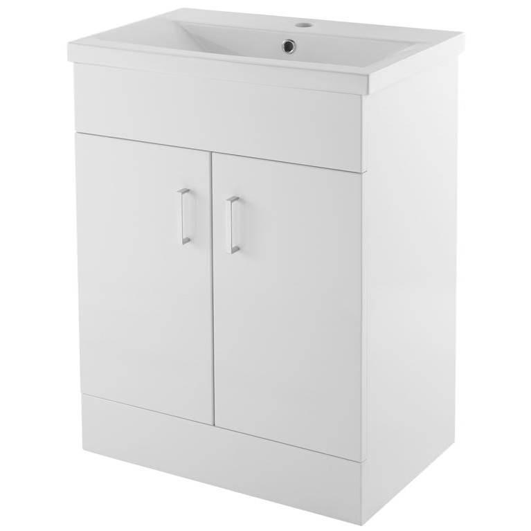 Premier Eden 600mm Floor Standing 2 Door Cabinet With