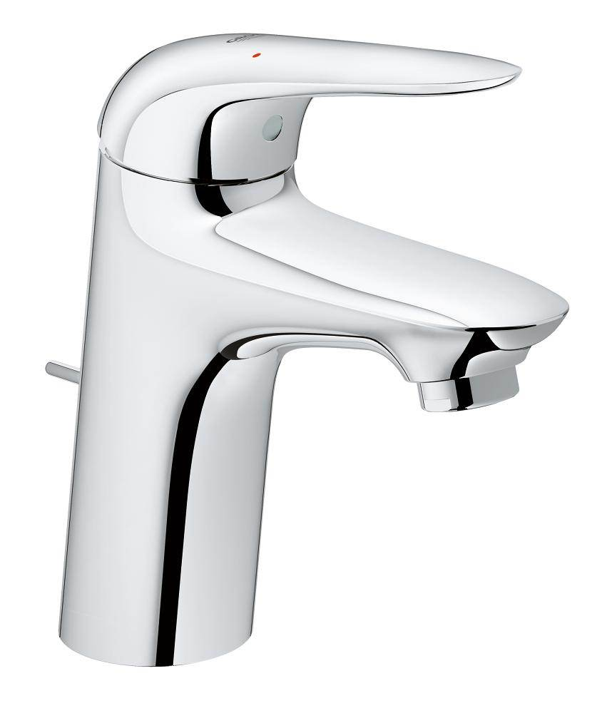 grohe eurostyle s size single hole basin mixer tap 23707003. Black Bedroom Furniture Sets. Home Design Ideas
