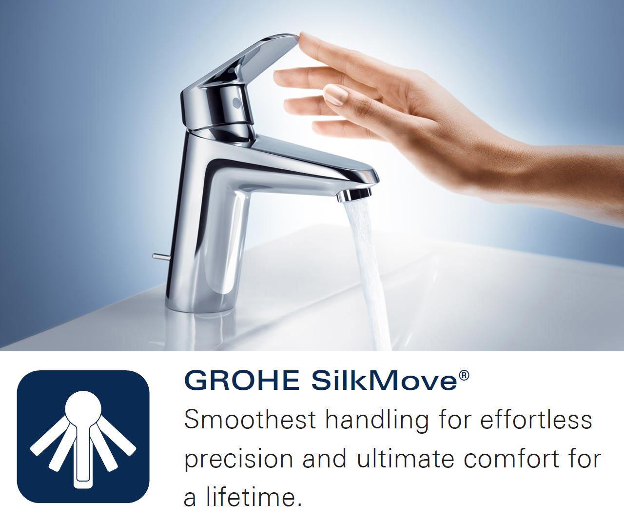 Grohe Eurosmart Half Inch Single Lever Bath Shower Mixer Tap 33304002