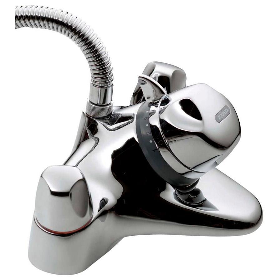 aqualisa aquamixa thermostatic bath shower mixer tap combi 310 01 aqualisa aquamixa thermostatic bath shower mixer tap combi