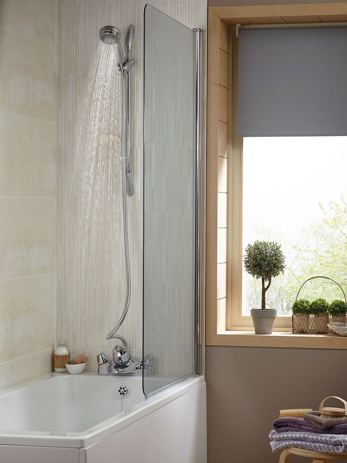 Low Pressure Thermostatic Bath Shower Mixer aqualisa aquamixa thermostatic bath shower mixer tap - gravity/main fed