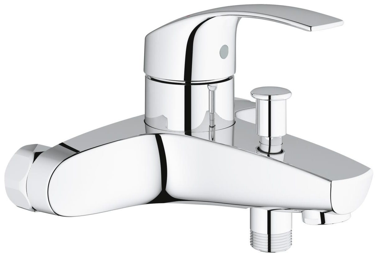 grohe eurosmart half inch single lever bath shower mixer tap. Black Bedroom Furniture Sets. Home Design Ideas