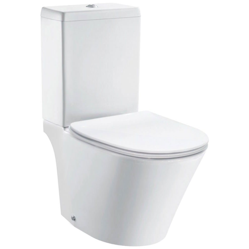 Pura Imex Blade Close Coupled Wc Bowl With Cistern And