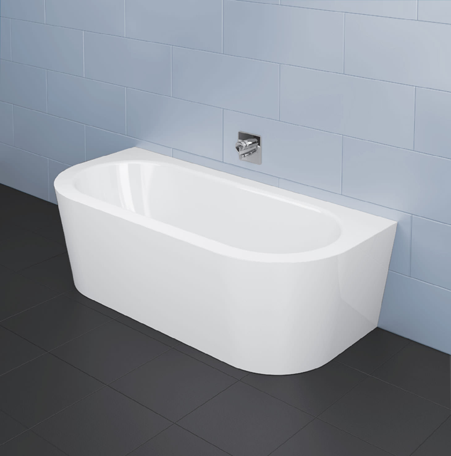 Bette Starlet I Silhouette 1850 X 850mm Steel Bath With