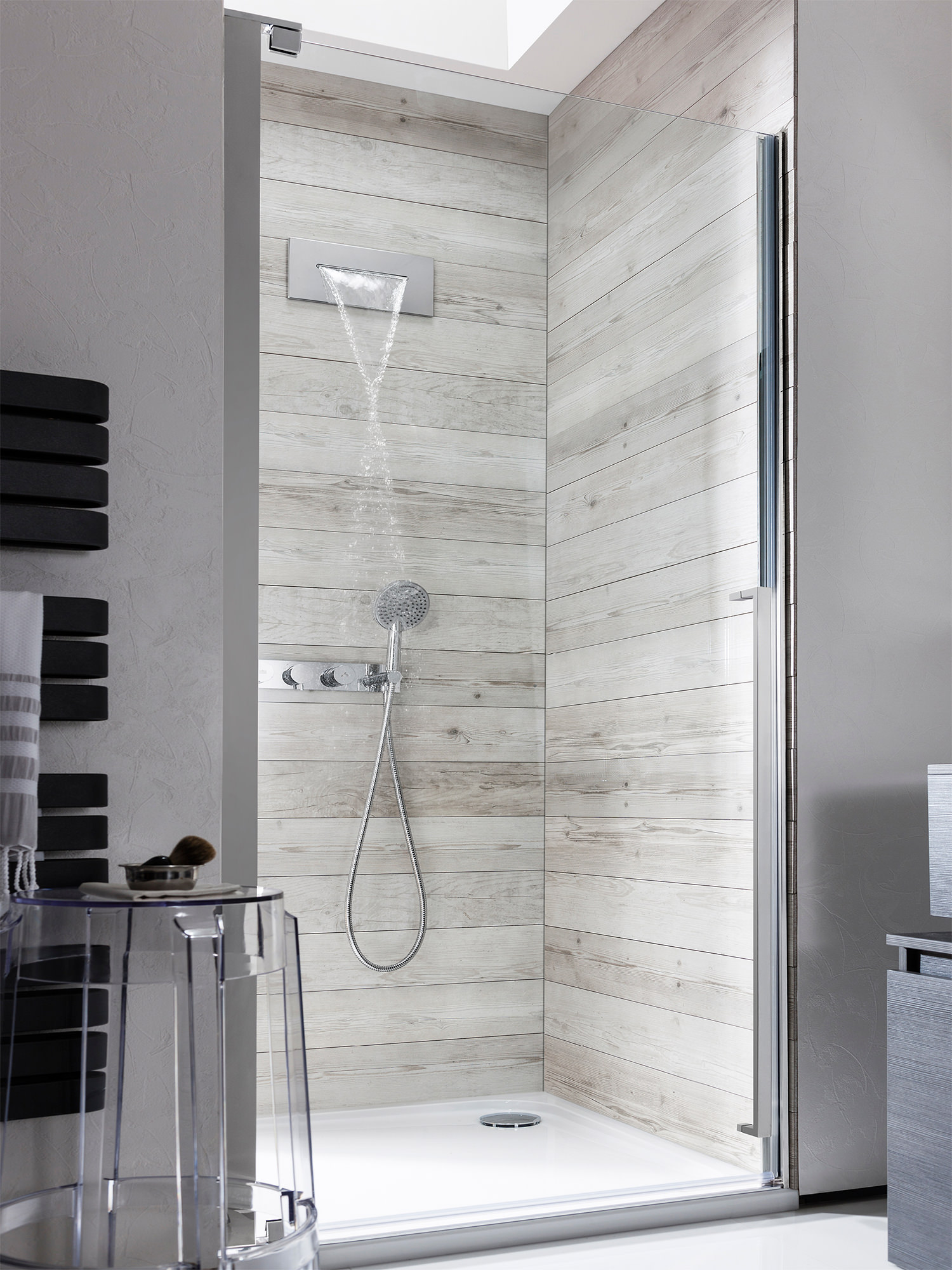 Crosswater Zest Shower Bath Waterfall Filler Tap Zt0370wc