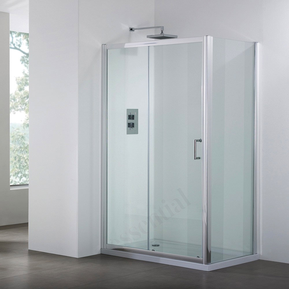 april destini 1000mm sliding shower door ap9323s