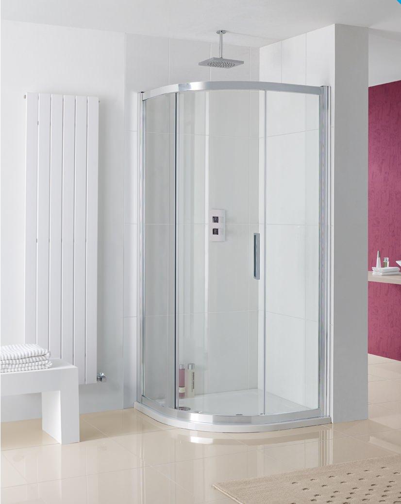 Lakes Coastline Sorong Offset Quadrant Shower Enclosure 900 x 760mm