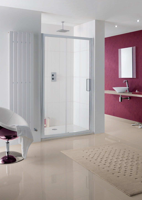 Lakes coastline talsi sliding shower door 1000mm for 1000mm sliding shower door