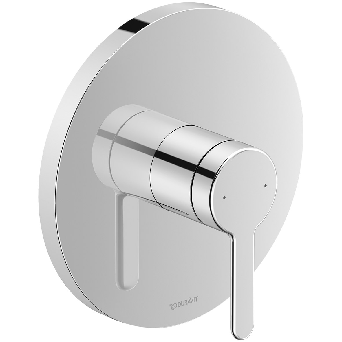 Duravit C.1 Round Concealed Manual Shower Mixer Valve | C14210010010