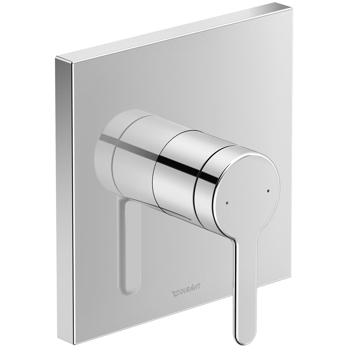 Duravit C 1 Square Concealed Manual Shower Mixer Valve C14210009010