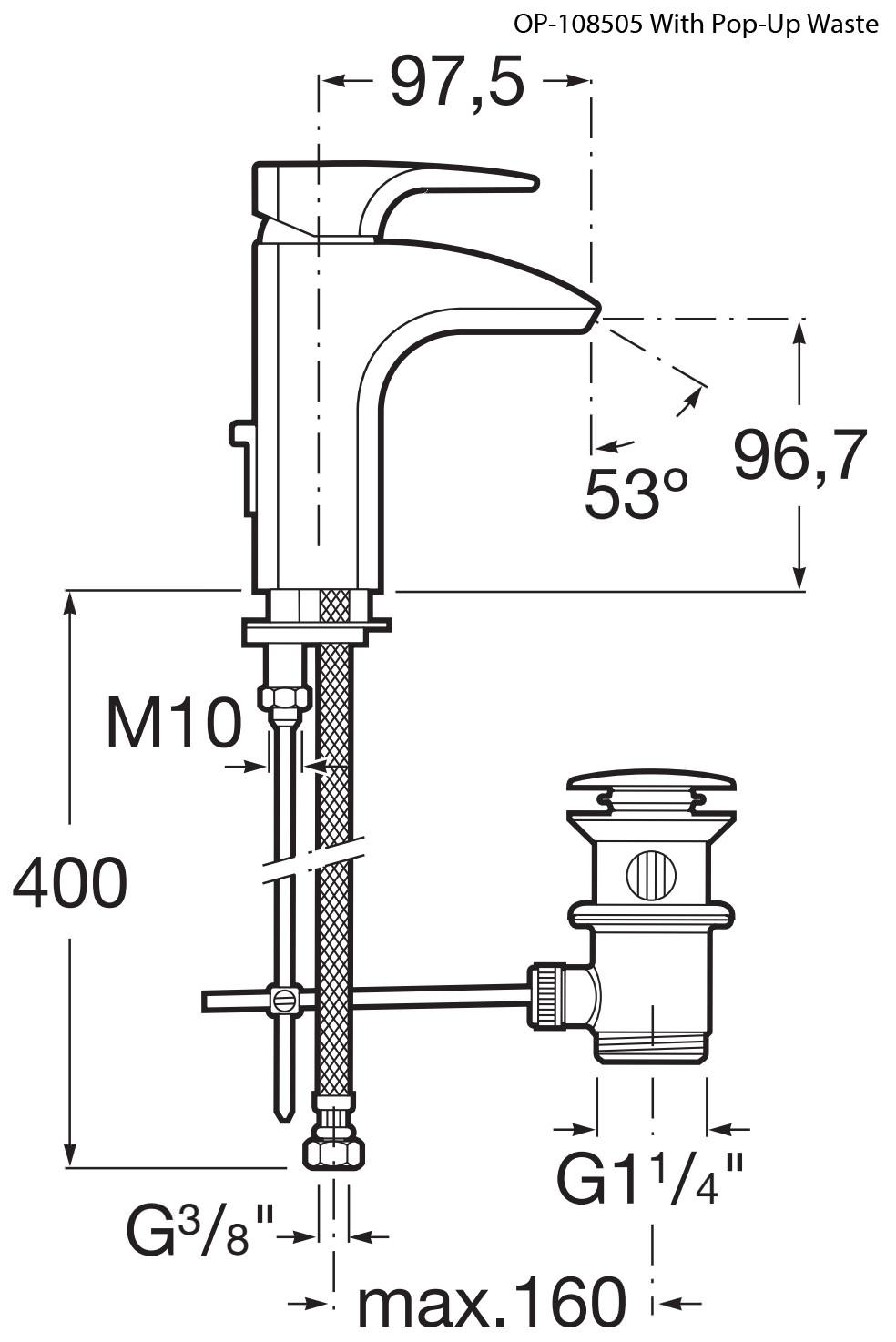thesis basin mixer Buy roca thesis built-in basin mixer tap with flow limiter - chrome at heatandplumbcom roca part no: 5a4550c00 free uk.
