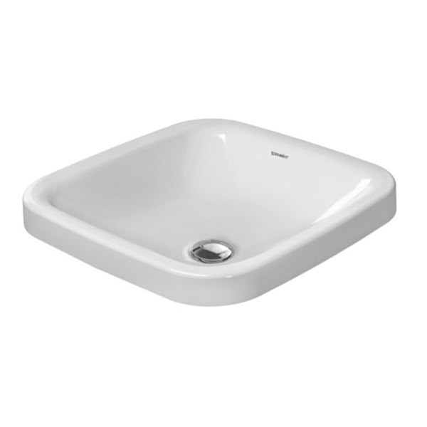 Duravit Durastyle 430mm Square Counter Top Vanity Basin
