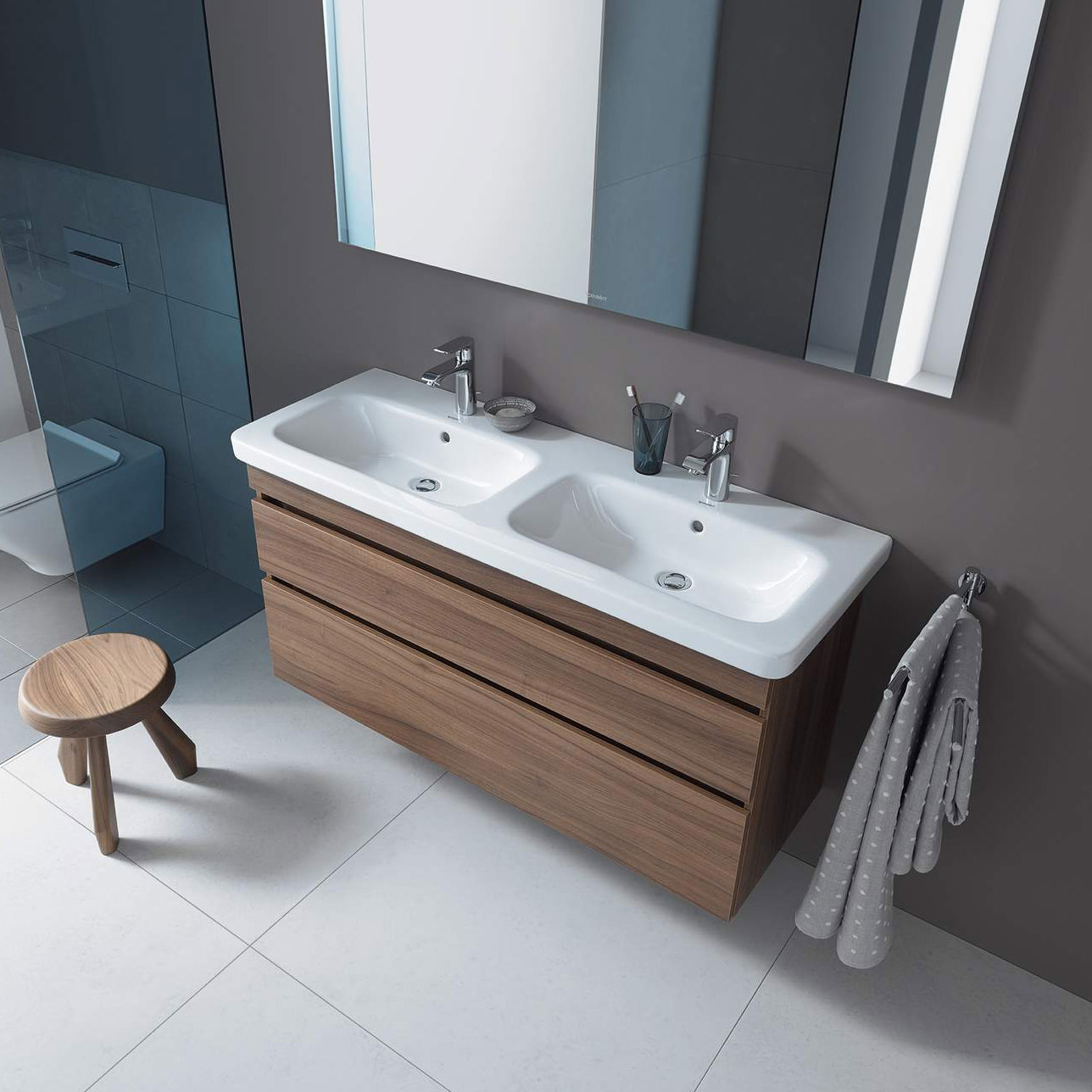 Duravit Durastyle 1300 X 480mm Double Furniture Washbasin 2338130000
