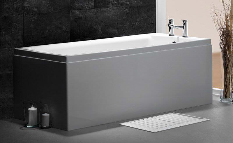 Carron Quantum Single Ended 5mm Acrylic Bath 1800 X 725mm