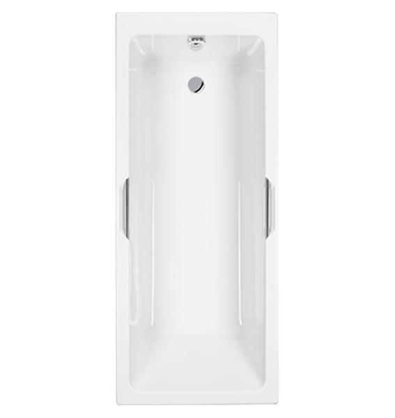 Carron Quantum Integra Eco 5mm Acrylic Bath With Twin Grip 1600 X 700mm