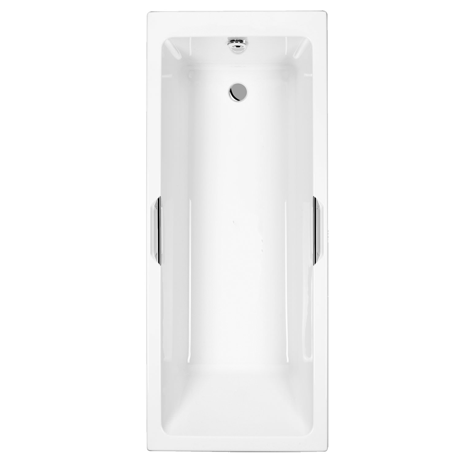 Quantum Integra Single Ended 5mm Acrylic Bath With Grips 1700 x 700mm