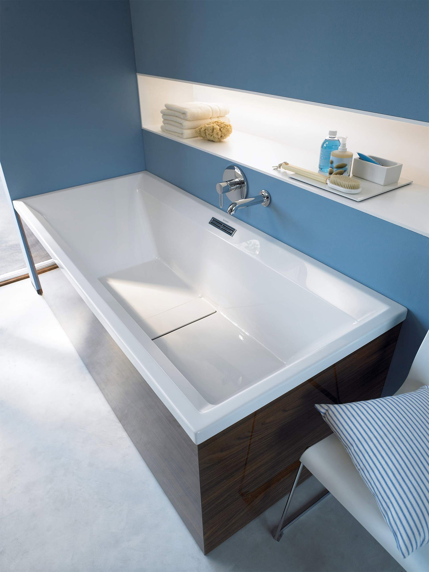 Duravit 2nd Floor Built In 1900 X 900mm Bath 700160000000000