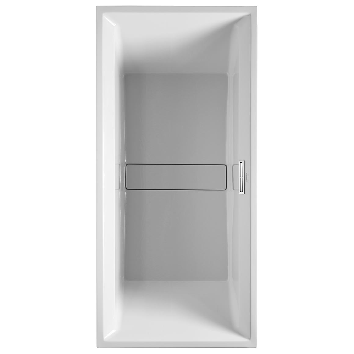 Duravit 2nd Floor Built-In 1900 x 900mm Bath With Support Feet ...