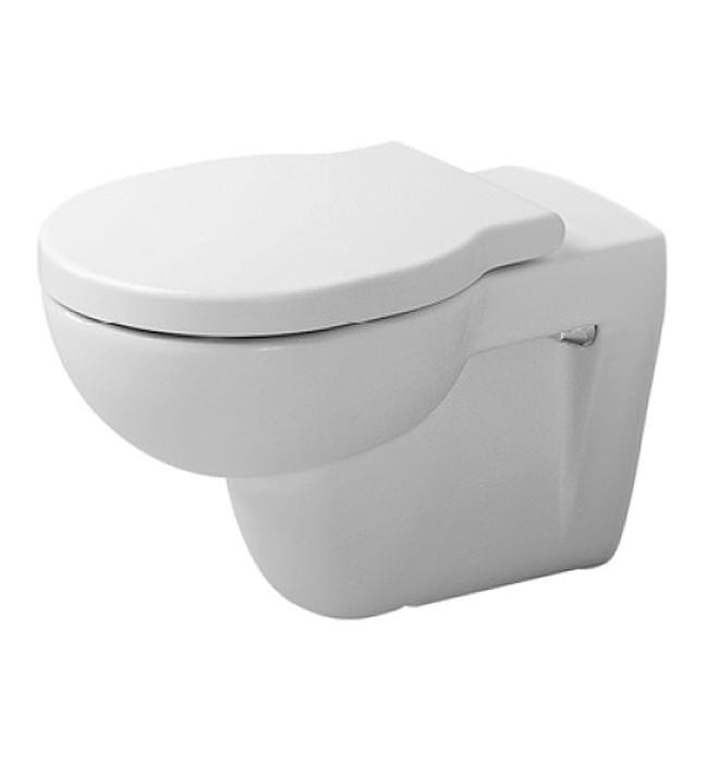 duravit bathroom foster 570mm wall mounted toilet 0175090000. Black Bedroom Furniture Sets. Home Design Ideas