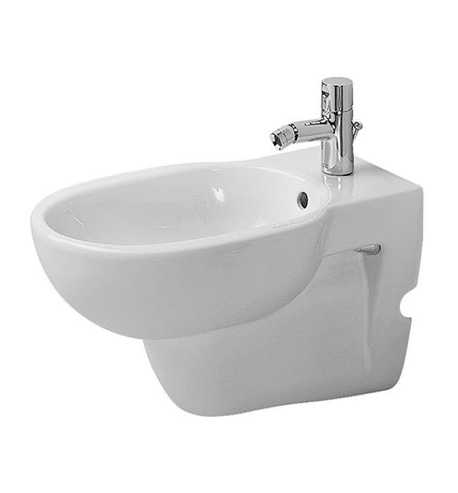 duravit bathroom foster 570mm wall mounted bidet 0134150000. Black Bedroom Furniture Sets. Home Design Ideas