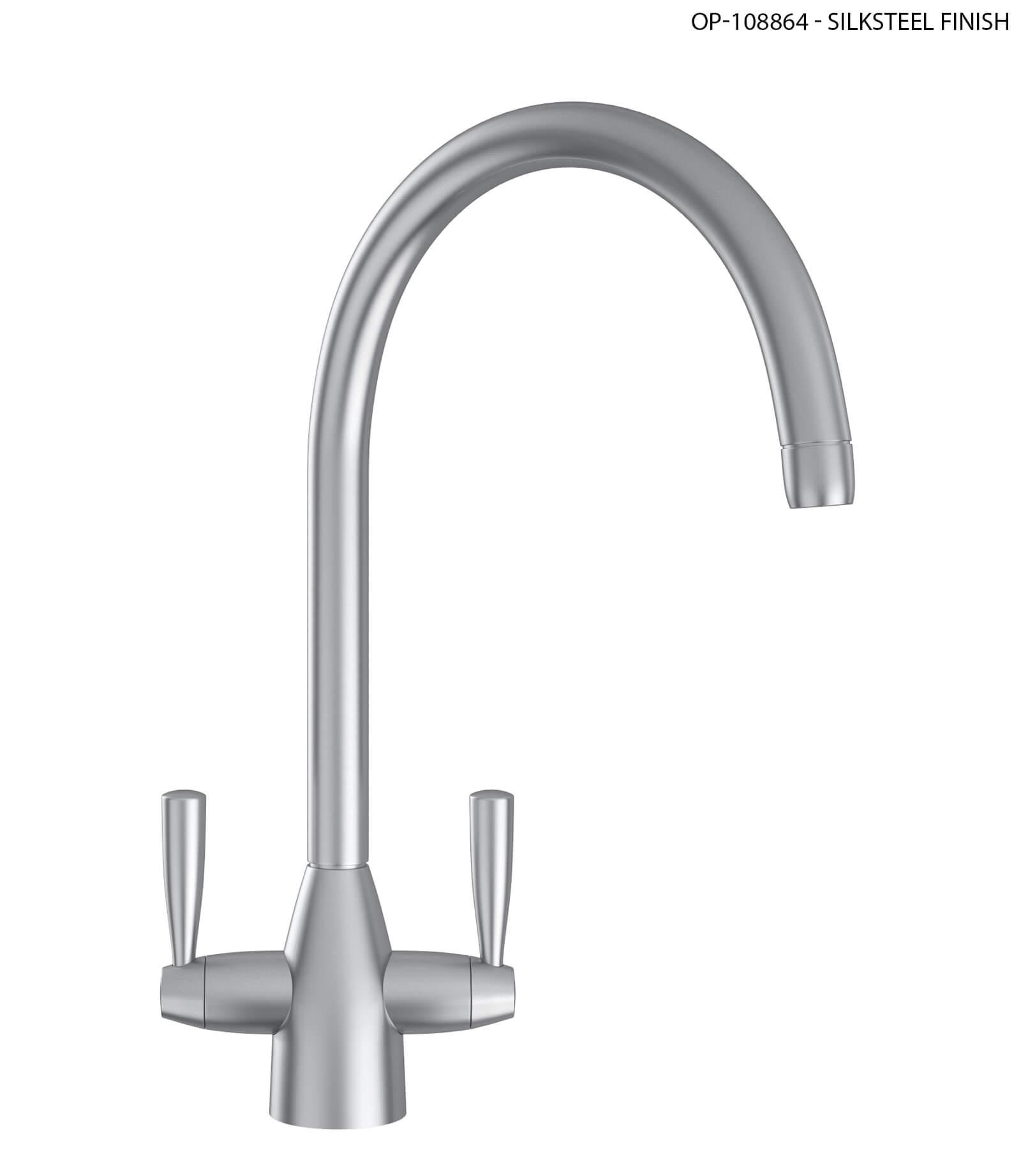 Franke Eiger Kitchen Sink Mixer Tap Chrome More Finish