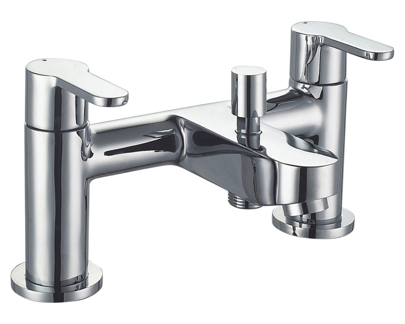 Mayfair Focus Deck Mounted Bath Shower Mixer Tap With Kit
