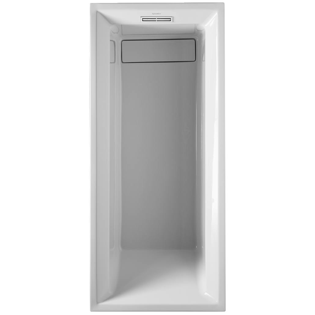 Duravit 2nd Floor Built-In 1700 x 700mm Bath With Support Feet ...