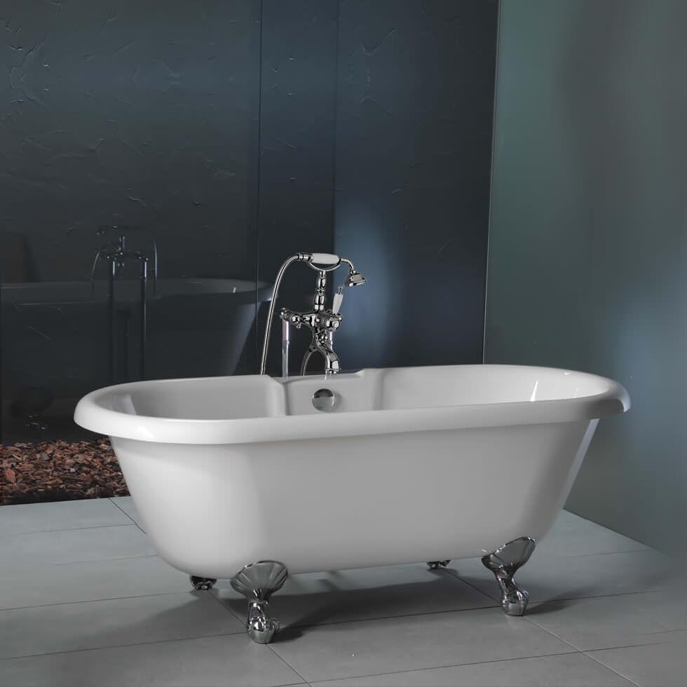 Carron Ascoli 5mm Acrylic Freestanding Bath With Legs 1700
