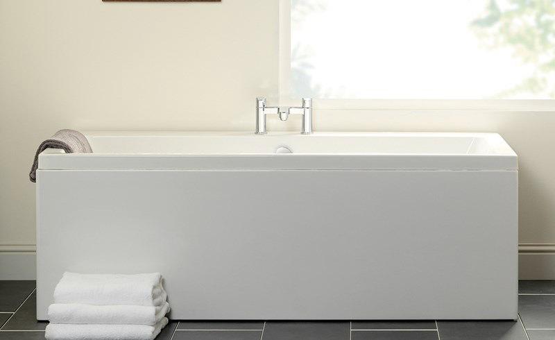 Carron Quantum Double Ended 5mm Acrylic Bath 1700 X 750mm