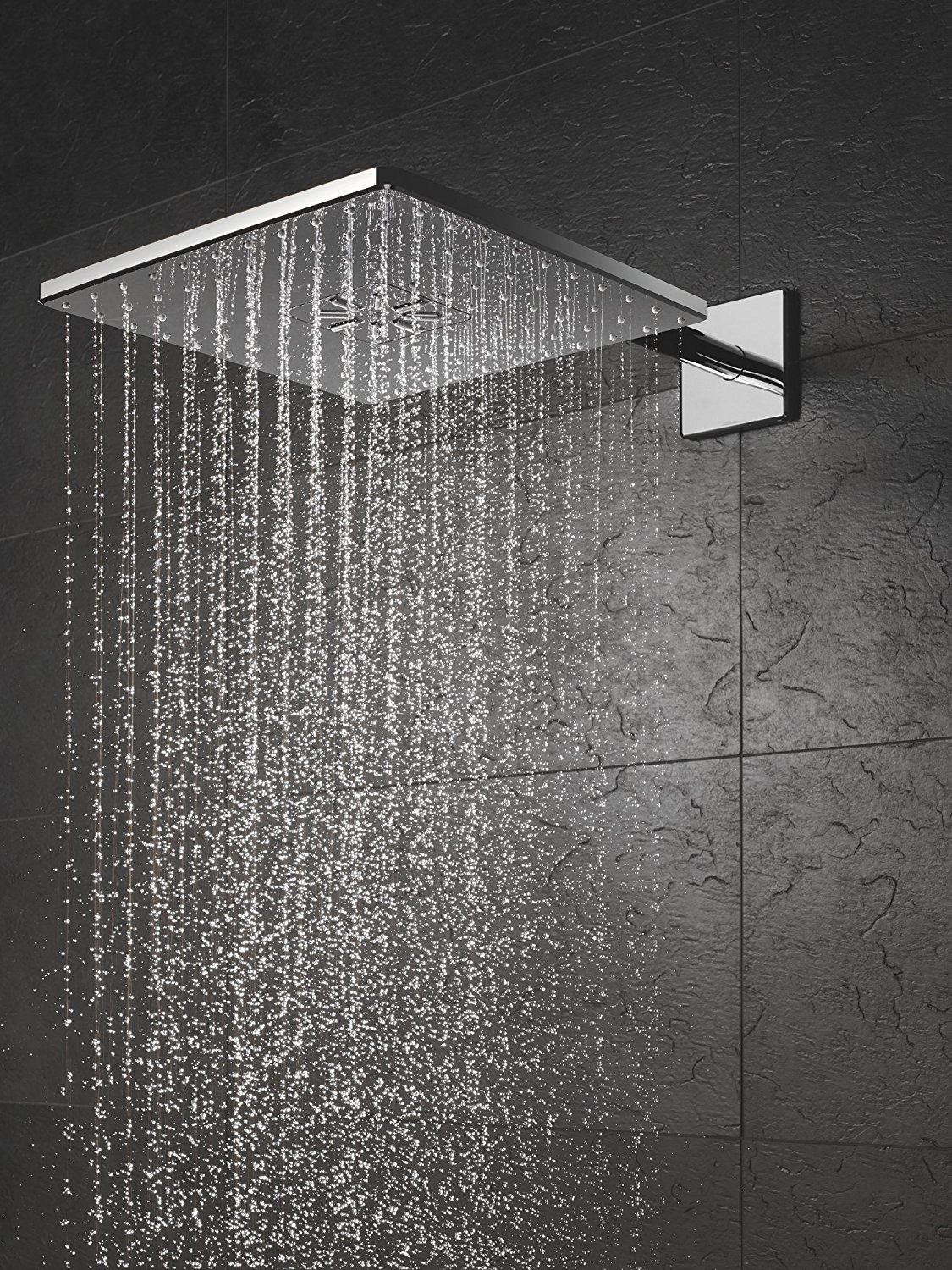 Grohe Smart Control 3 Way Chrome Square Shower Set 26479000