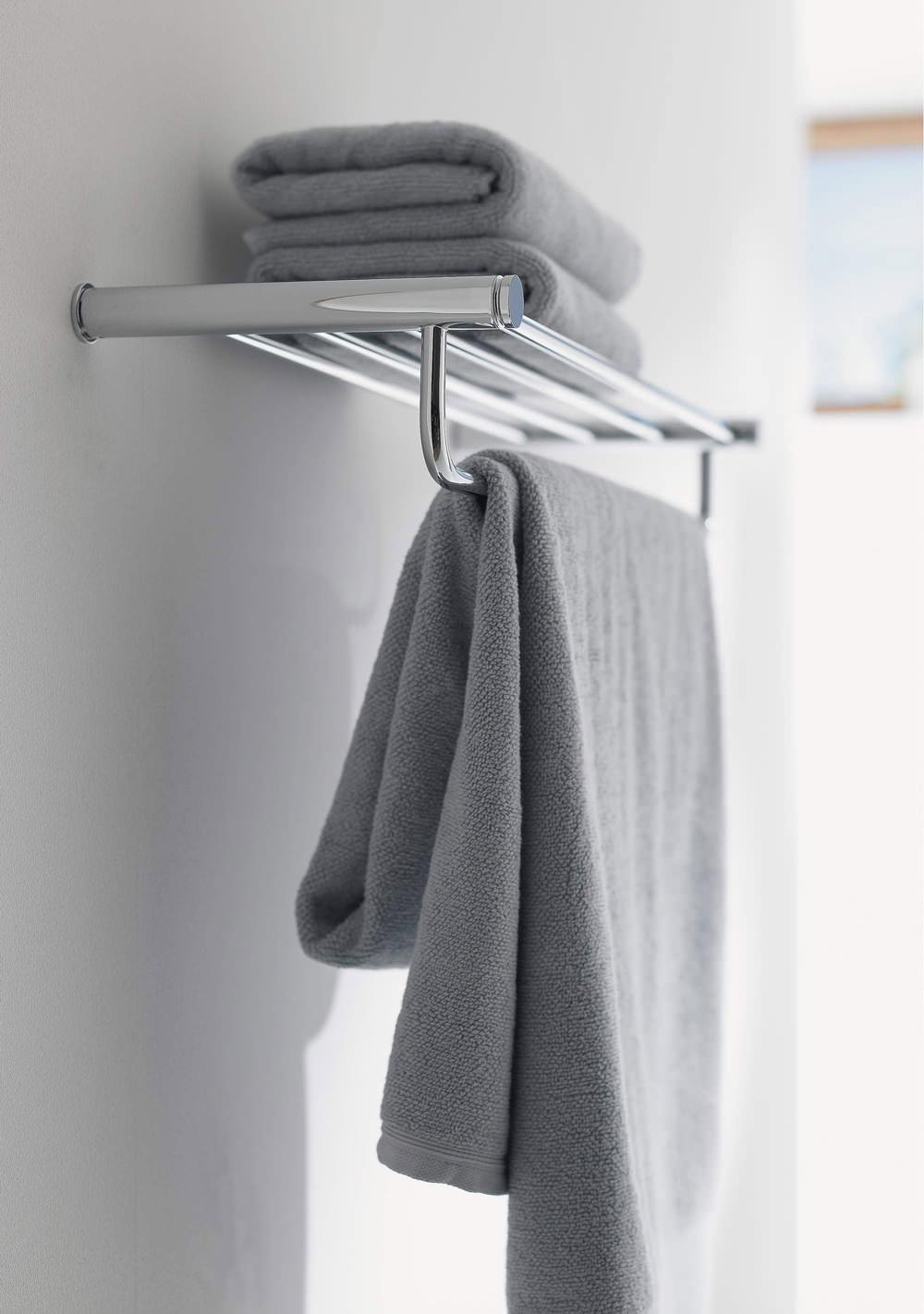 p depot towel in symmons the home shelf dia bars chrome