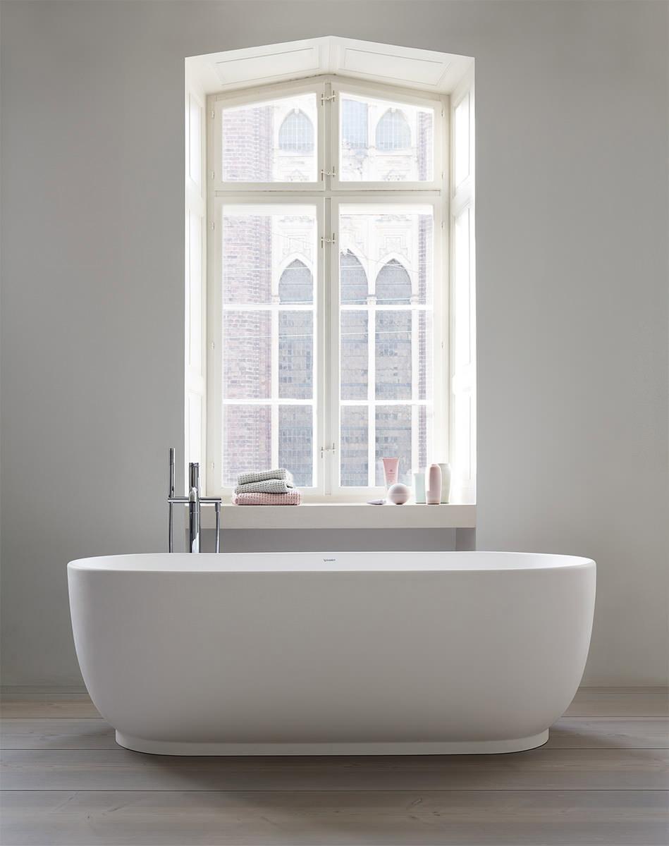 Duravit Luv 1800 x 850mm Freestanding Bathtub - 700434000000000