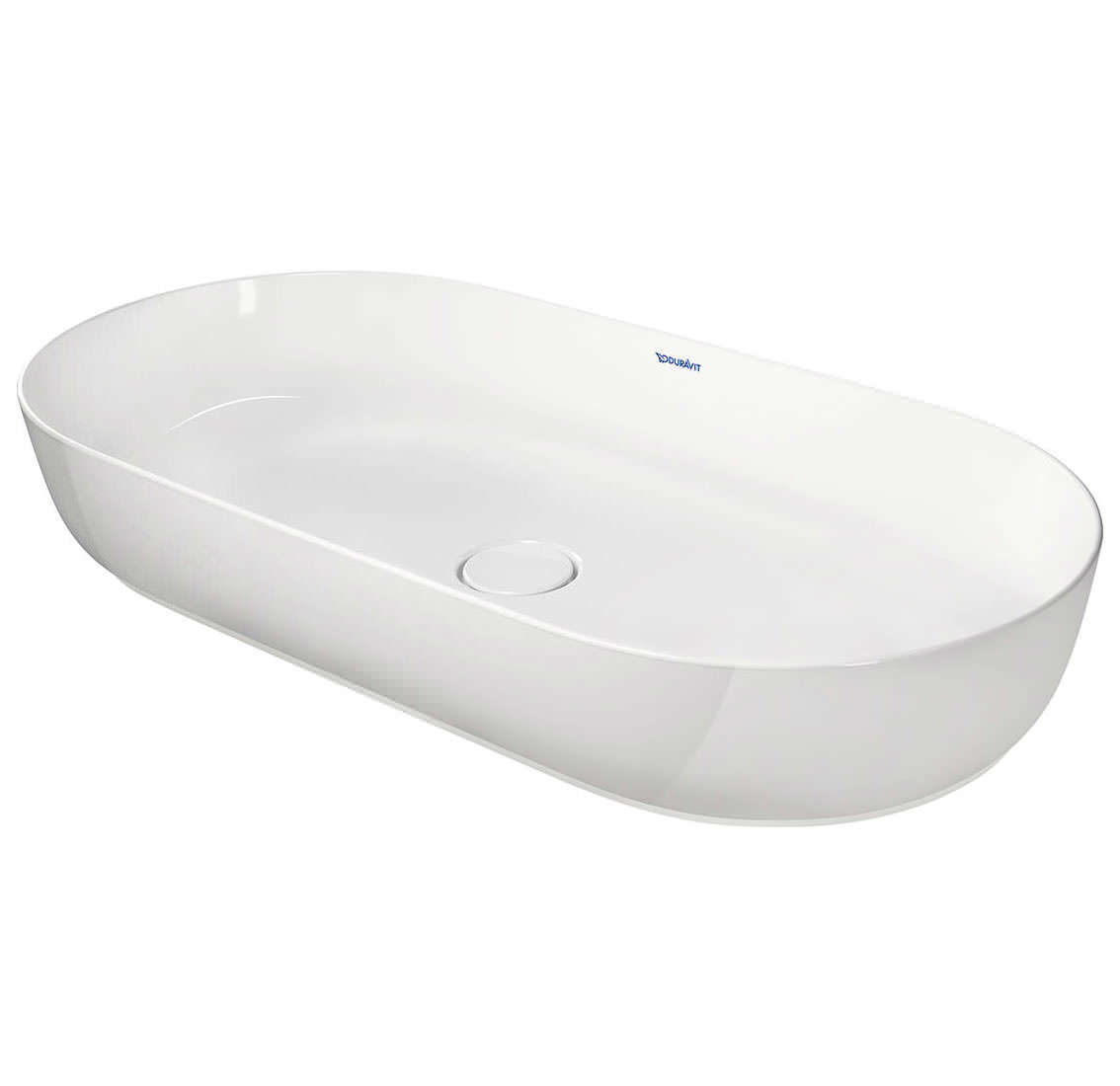 duravit luv 800 x 400mm ground wash bowl more finish. Black Bedroom Furniture Sets. Home Design Ideas