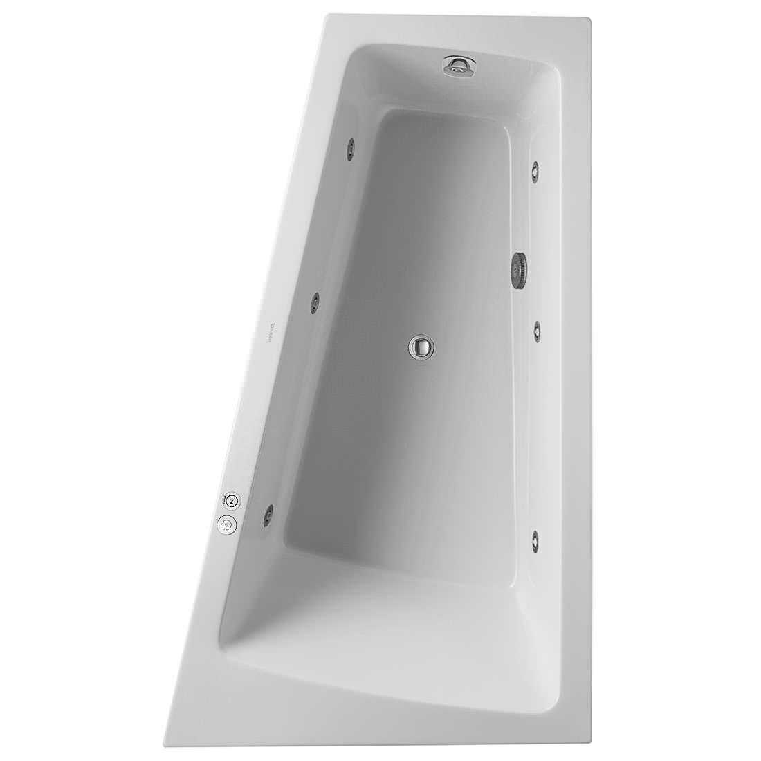 Duravit Paiova 1700 X 1000mm Right Slope Bath With Panel