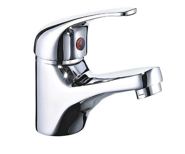 Mayfair Titan Mono Basin Mixer Tap With Click Waste