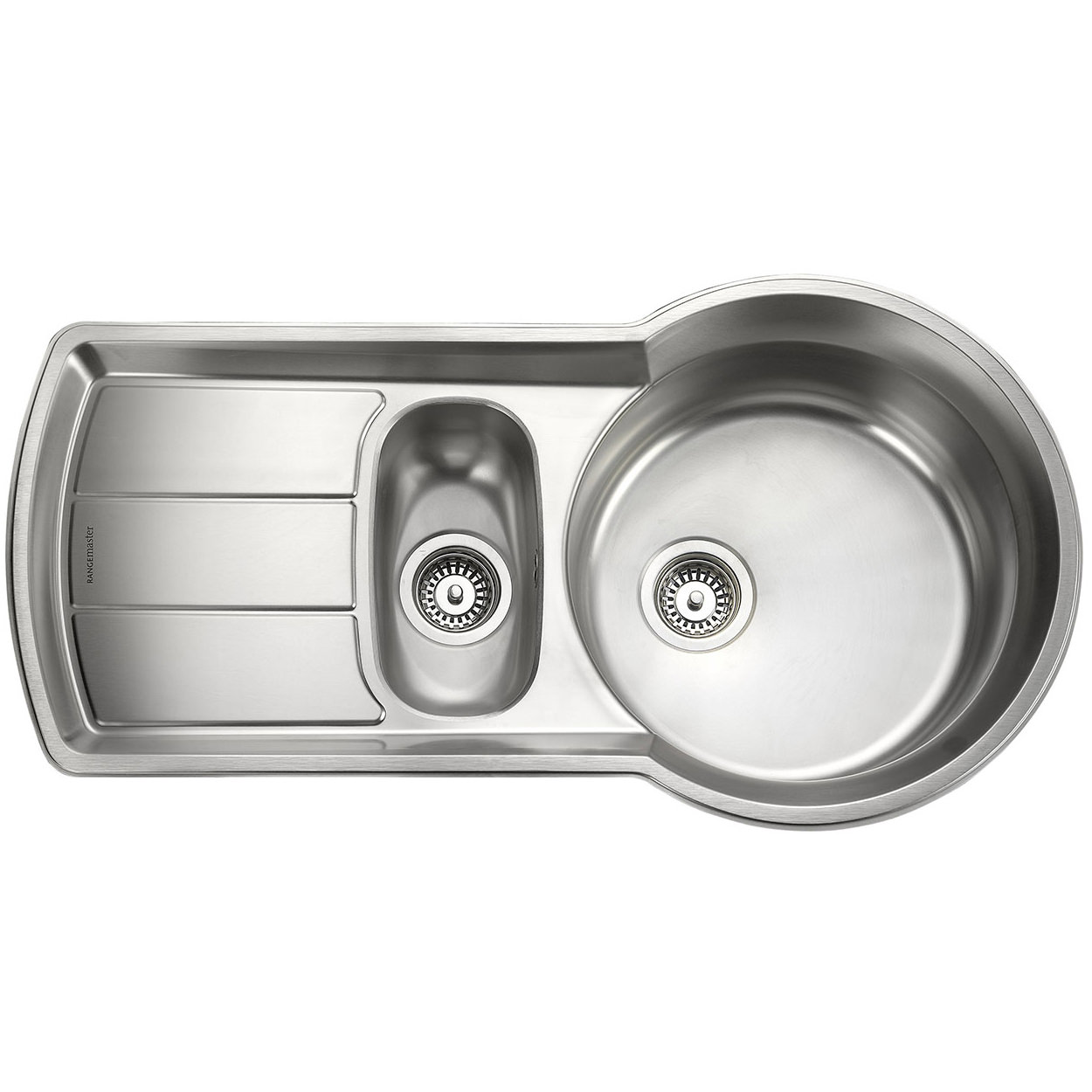 Rangemaster Kitchen Sinks Rangemaster keyhole 15 bowl stainless steel kitchen sink workwithnaturefo