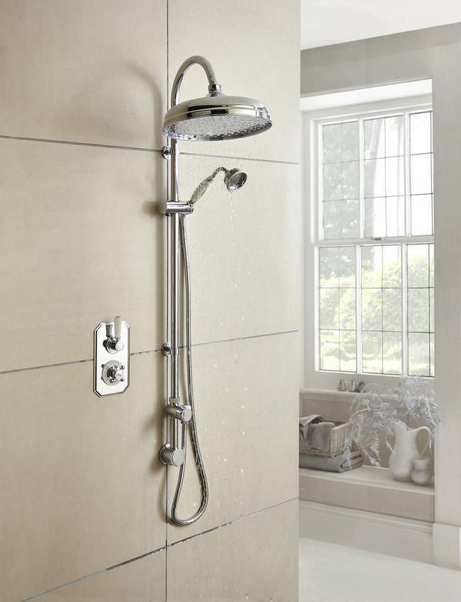 hudson reed topaz twin concealed thermostatic shower valve. Black Bedroom Furniture Sets. Home Design Ideas