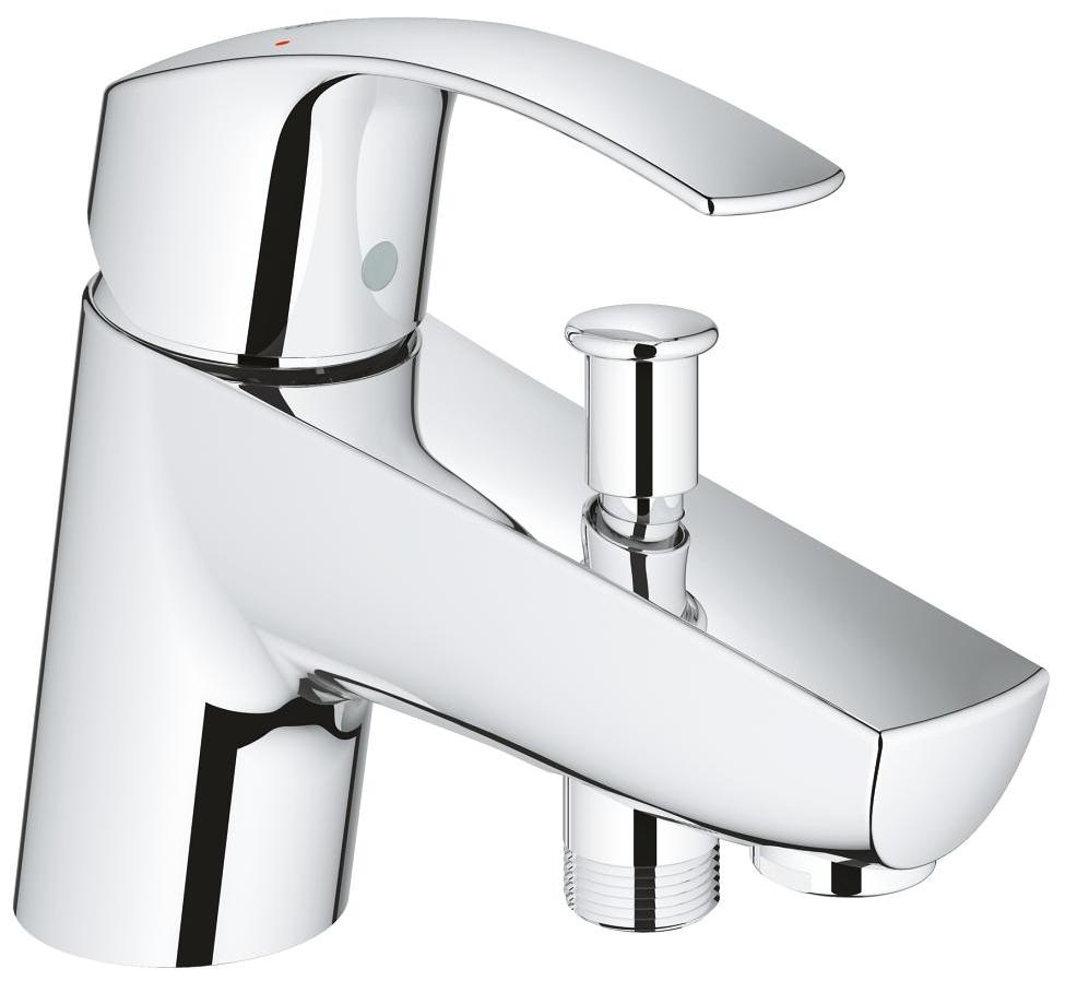 grohe eurosmart single lever bath shower mixer tap chrome. Black Bedroom Furniture Sets. Home Design Ideas