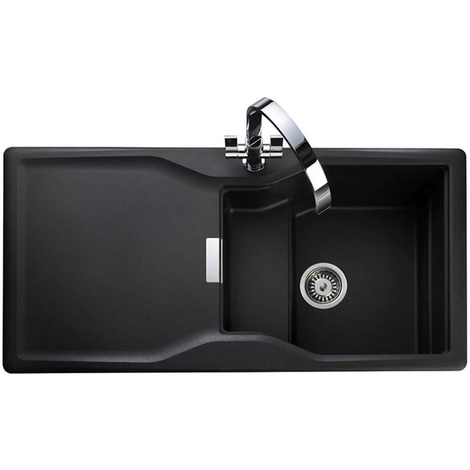 Granite Kitchen Sinks Uk Rangemaster Magma 1 Bowl Igneous Granite Sink Ash Finish