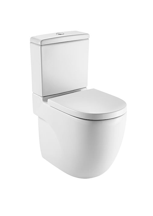 Roca Meridian N Comfort Height Close Coupled Wc Pan And Cistern