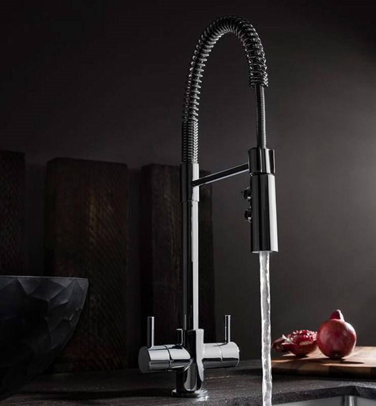 Crosswater Cucina Cook Single Lever Kitchen Sink Mixer Tap With ...