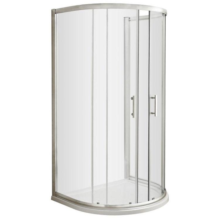 Lauren Pacific D Shaped 1050 x 925mm Shower Enclosure | AQUD2