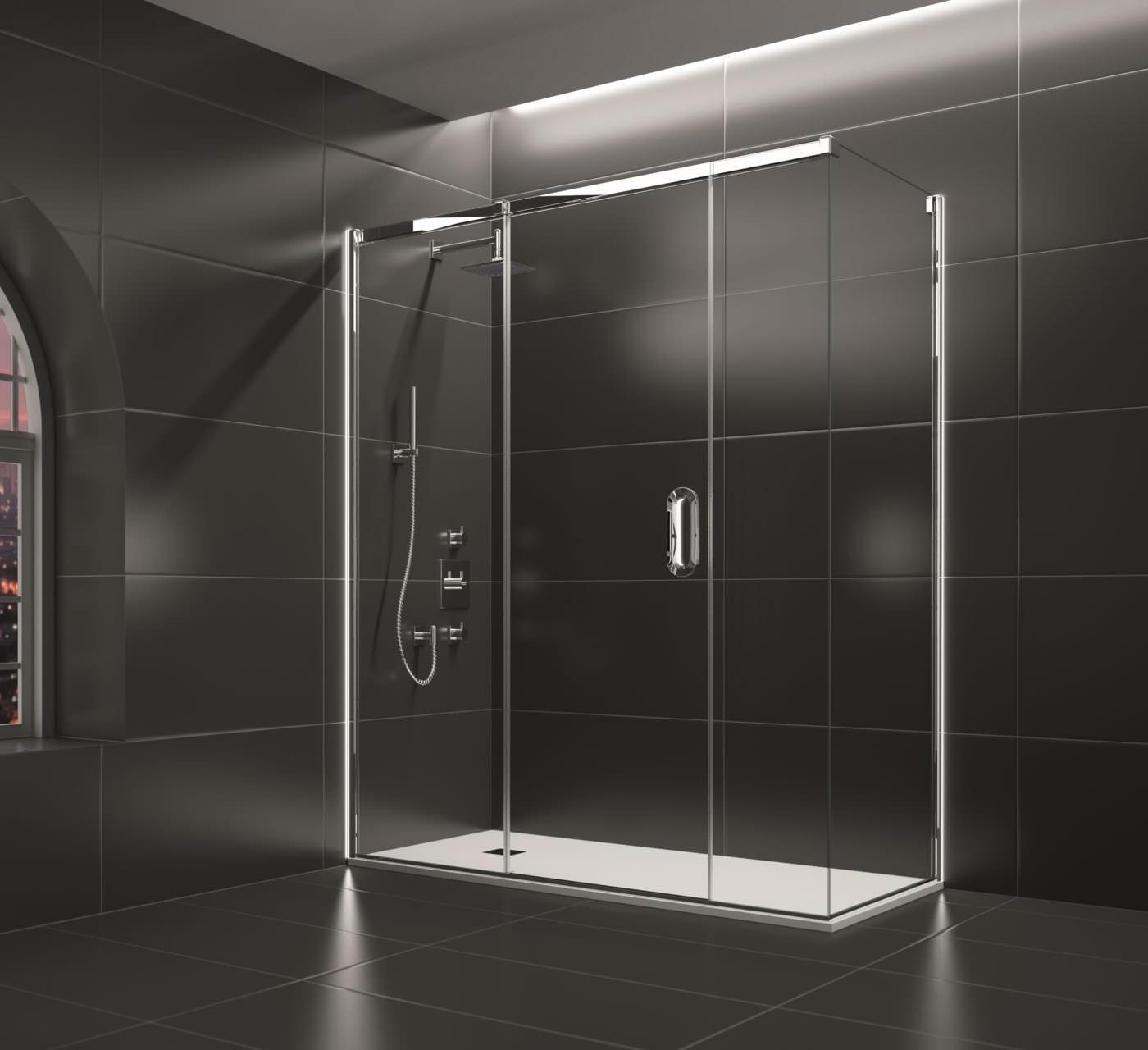 3 Panel Sliding Glass Door: Merlyn Arysto 3 Panel Sliding Door 1600mm