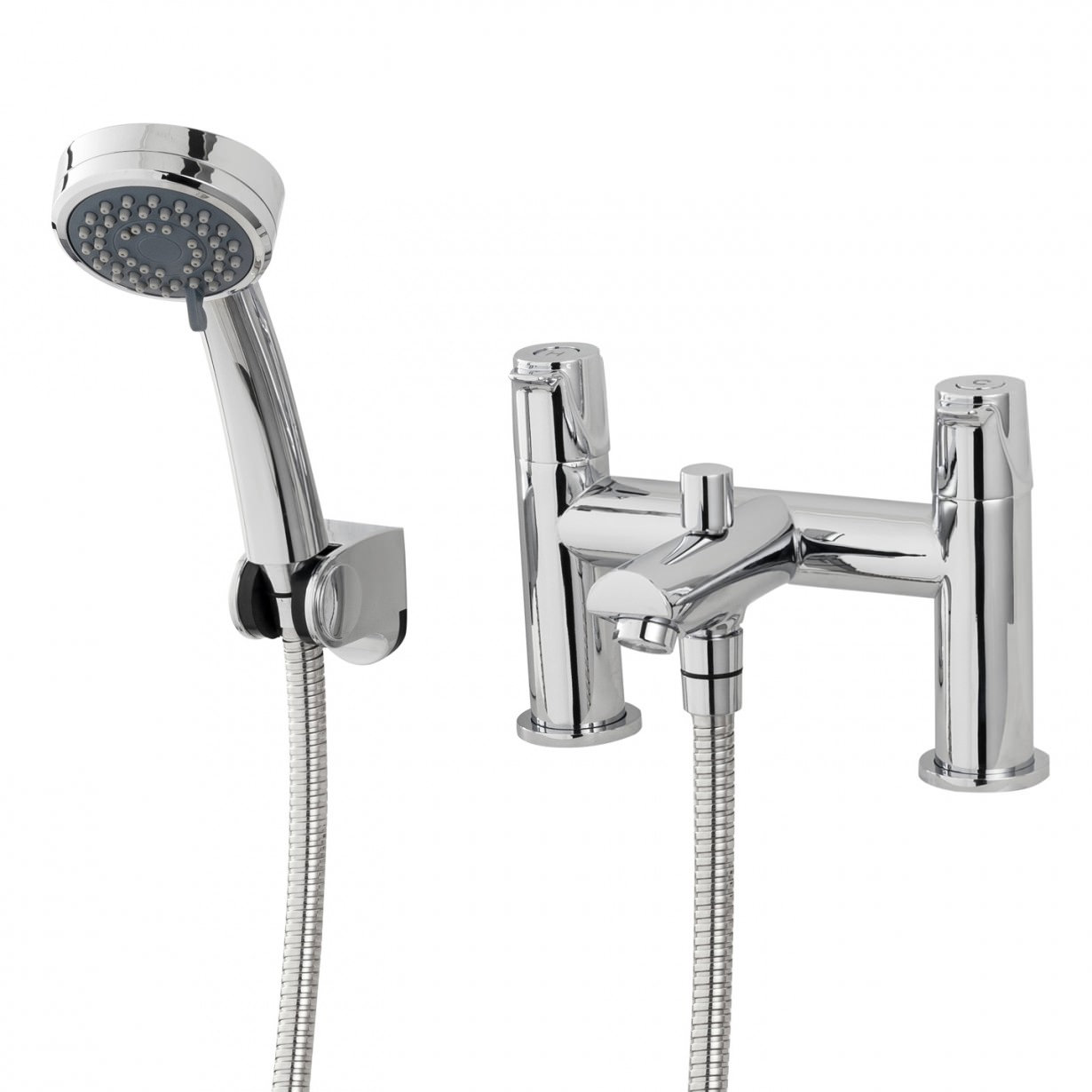 triton dene bath shower mixer tap with handset and hose. Black Bedroom Furniture Sets. Home Design Ideas