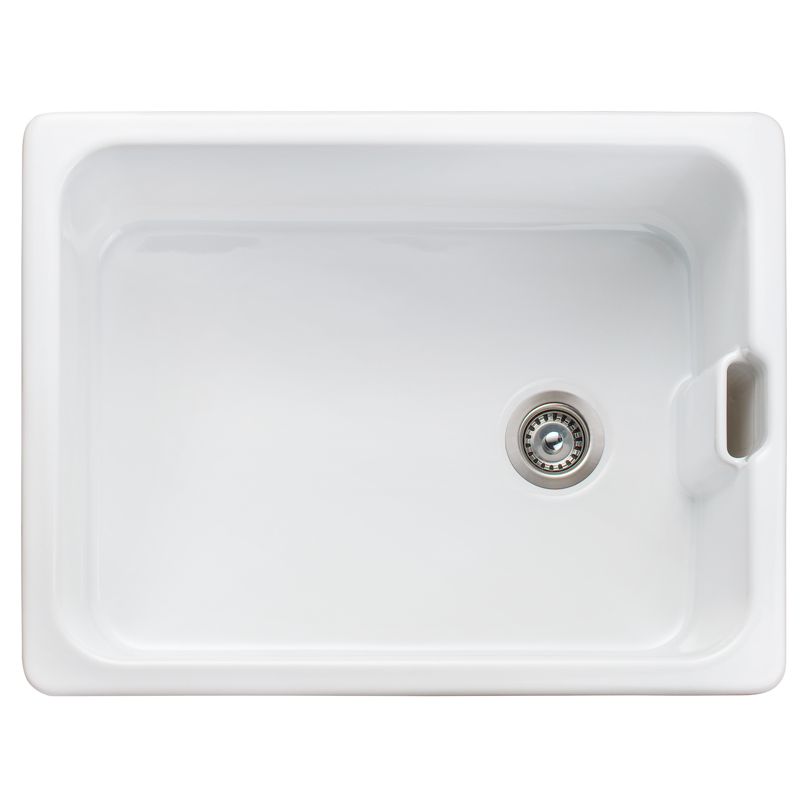 Rangemaster Farmhouse Belfast 595 X 455mm Fire Clay Ceramic 1.0B Sink