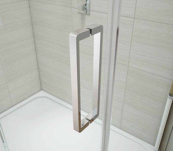 Merlyn ionic gravity 1700mm frameless sliding shower door for 1700 shower door