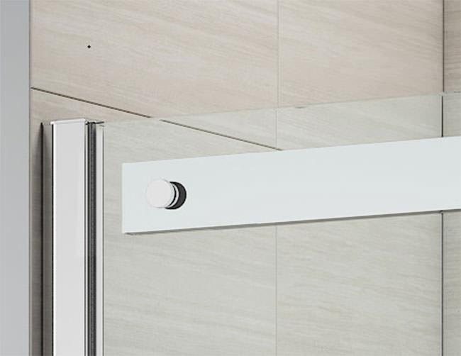 Merlyn ionic gravity 1400mm frameless sliding shower door for 1400mm sliding shower door
