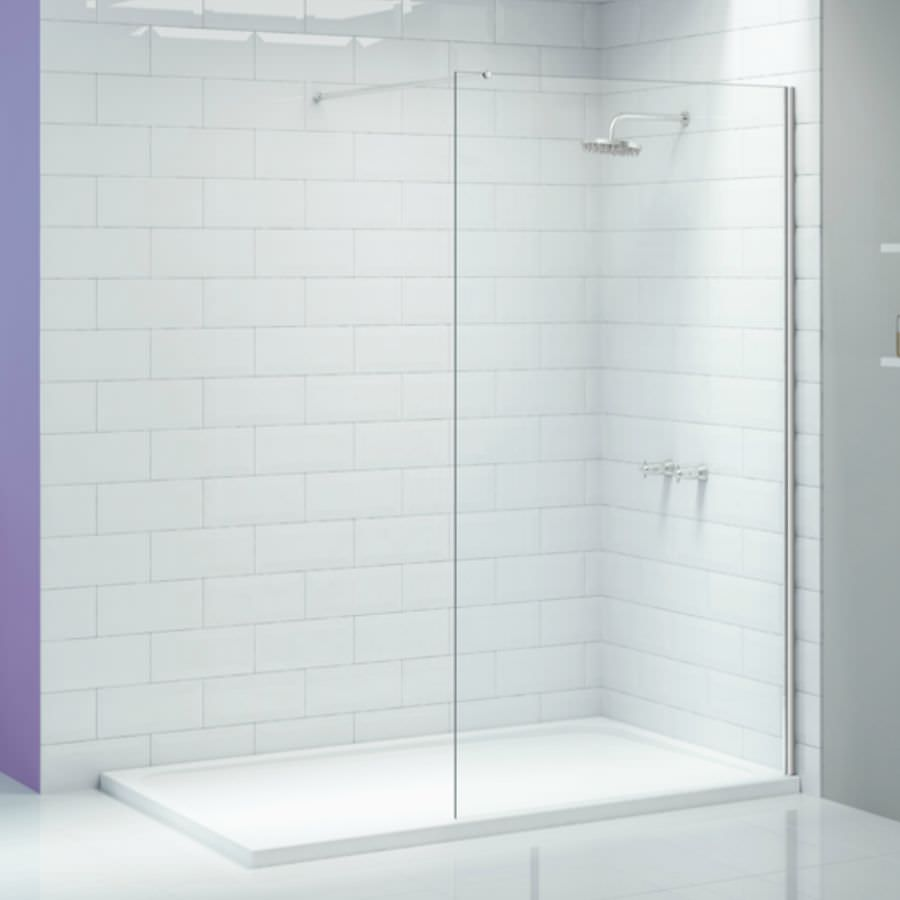 Merlyn Ionic Wetroom 700mm Walk In Wall Shower Enclosure